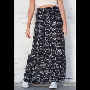 Brandy Melville floral phoebe skirt